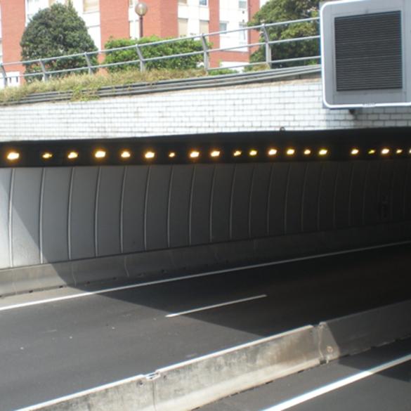 MEIK, seguridad en túnel, ventilación de túnel, algoritmo de ventilación